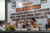 KPU Kota Mojokerto Ikuti Rakor Di Tulungangung