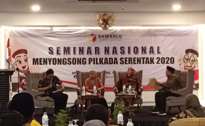 KPU Kota Mojokerto Hadiri Seminar Nasional Di Jember