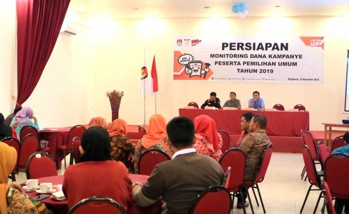 Rapat Persiapan Monitoring Dana Kampanye Peserta Pemilu Tahun 2019