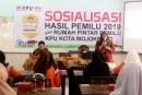 Terkait Hasil Pemilu 2019, KPU Kota Mojokerto Adakan Sosialisasi Di SMK Paramita