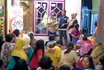 Pendampingan Sosialisasi Relawan Demokrasi Jl. Ken Arok RT 1 RW 3 Balongsari