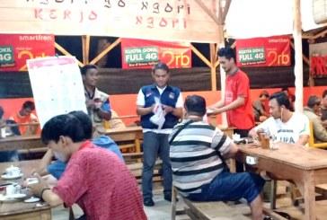 Sosialisasi Pemilu 2019 di Warung Kopi Mabes 13