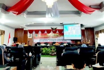 KPU Kota Mojokerto Hadiri Undangan Rapat Paripurna DPRD Kota Mojokerto