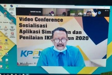 PPK dan PPSPM Ikuti Vidcon Sosialisasi Aplikasi SIMASPATEN dan Penilaian IKPA Tahun 2020