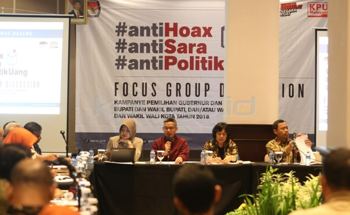 KPU Perlakukan Seluruh Paslon Secara Adil dan Setara dalam Kampanye