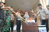 KPU Kota Mojokerto Musnahkan Surat Suara Rusak