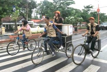 Relasi Keliling Kota Sosialisasikan Ajakan Mencoblos