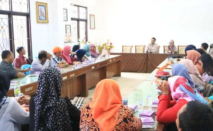 Penerimaan Laporan Kegiatan Relawan Demokrasi KPU Kota Mojokerto