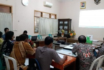 Rapat Pencermatan Anggaran Pilkada Kota Mojokerto 2018