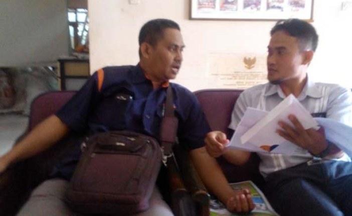 Kunjungan Produser News jtv Ke KPU Kota Mojokerto