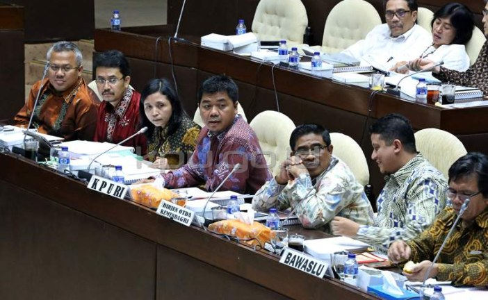 KPU Konsultasikan 5 Draf PKPU Pilkada 2017