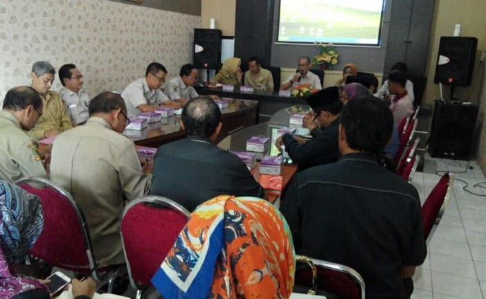 Jelang Tahapan Pilkada 2018, KPU Kembali Lakukan Audiensi dengan TAPD Kota Mojokerto