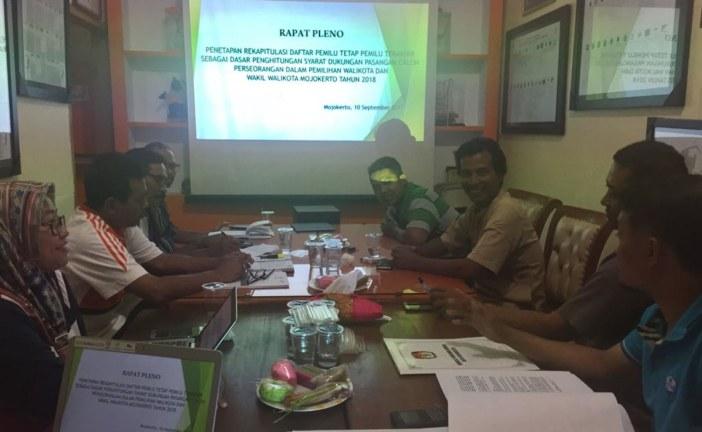 KPU Tetapkan Syarat Dukungan Bagi Paslon Perseorangan Pada Pilkada Kota Mojokerto 2018