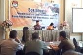 Sosialisasi Tahapan dan Tata Cara Pencalonan Pilwali & Wawali Mojokerto 2018