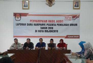 Penyampaian Hasil Audit Laporan Dana Kampanye Peserta Pemilu 2019