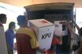 Distribusi Logistik KPU Kota Mojokerto