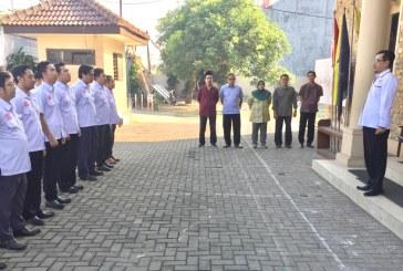 Apel Pagi KPU Kota Mojokerto Dengan Komisioner Baru