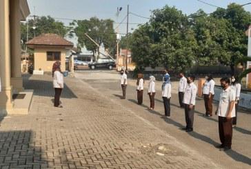 Apel Hari Kamis, Laksanakan Program Baru Sekretaris KPU Kota Mojokerto