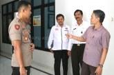 Kunjungan Rutin Kapolresta Ke Kantor KPU Kota Mojokerto