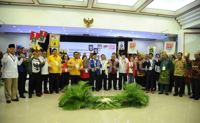Pengundian Nomor Urut Parpol, KPU Tunjukan Simbol Transparansi dan Keadilan