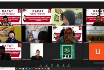 Penyampaian Perubahan Rekapitulasi Daftar Pemilih Berkelanjutan Tahun 2020 Via Video Conference