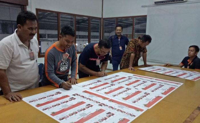 KPU Kota mojokerto ACC SURAT SUARA PILWALI 2018