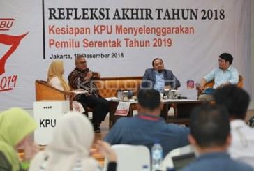Makin Siap, Tahapan Pemilu 2019 Berjalan Sesuai Rencana