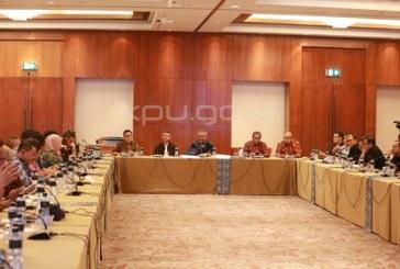 KPU Bahas Penyiaran Debat Bersama Pemred Media