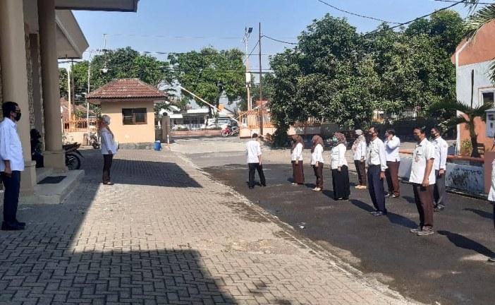 Apel Kamis Pagi, Kasubbag Hukum Harapkan Jajaran KPU Kota Mojokerto Lebih Solid