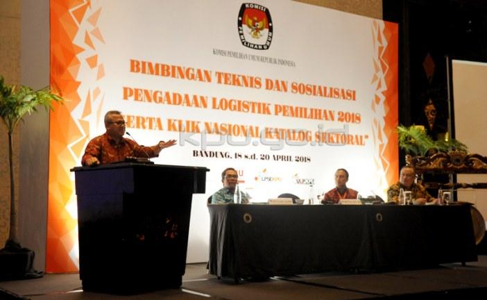 E-katalog Efisiensikan Pengadaan Logistik Pemilu