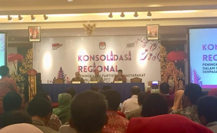 KPU Kota Mojokerto Ikuti Konsolidasi Regional Partisipasi Masyarakat di Bali