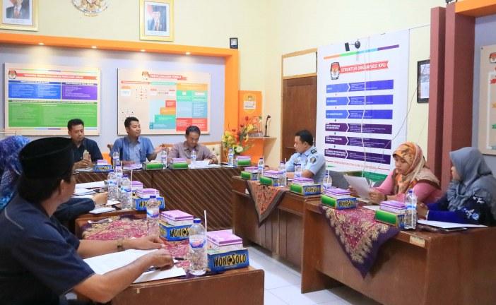 Koordinasi KPU Kota Mojokerto Terkait Pemilih di Lapas Pada DPT Pemilu 2019