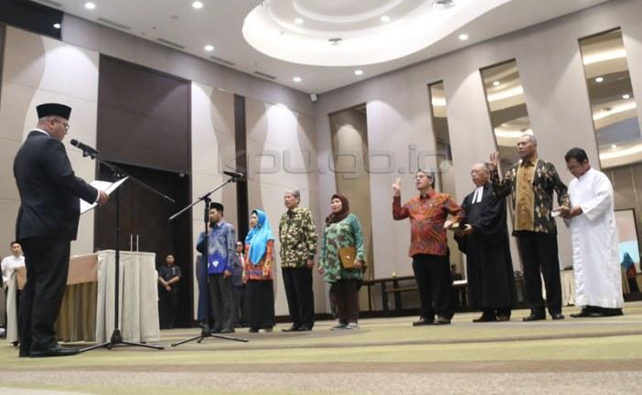 Lengkapi Anggota Lampung dan Jatim, KPU Lantik Timsel Penambahan