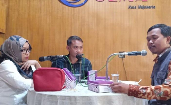 Talk Show KPU Kota Mojokerto di Gema FM