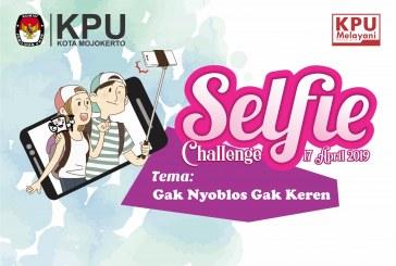 "Pengumuman Pemenang Lomba Selfie Challenge 17 April 2019 ""Gak Nyoblos Gak Keren"""