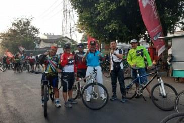 KPU Kota Mojokerto Ikuti Fun Bike 2019