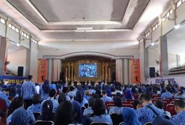 KPU Kota Mojokerto Hadiri Undangan HUT Korpri Ke-48