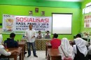 Sosialisasi KPU Kota Mojokerto Di SMA Taman Siswa