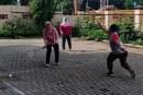 Olahraga Rutin Hari Jum'at KPU Kota Mojokerto