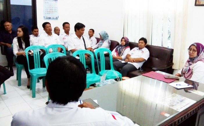 Rapat Rutin Sekretariat KPU Kota Mojokerto