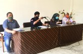 Rapat Staf, Pembentukan Tim Penanganan Covid-19 KPU Kota Mojokerto