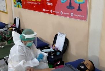 Donor Darah, Dalam Rangka Hari Oeang Ke-74 Tahun 2020