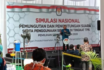Divisi Teknis Penyelenggaraan Hadiri Pelaksanaan Simulasi Nasional PUNGTURA