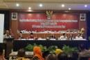 KPU Kota Mojokerto Hadiri Rakor KPU Jatim terkait Penyusunan Laporan Keuangan Pemilu 2019