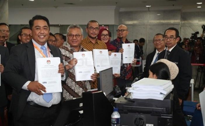 KPU Serahkan 272 Kontainer Jawaban Sengketa PHPU Pilpres 2019