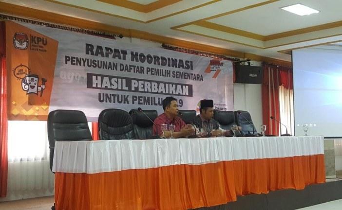 KPU Jatim Gelar Rakor Penyusunan DPSHP Pemilu 2019