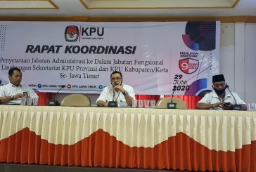 Pengusulan Penyetaraan Jabatan Administrasi Menjadi Jabatan Fungsional KPU Kota Mojokerto