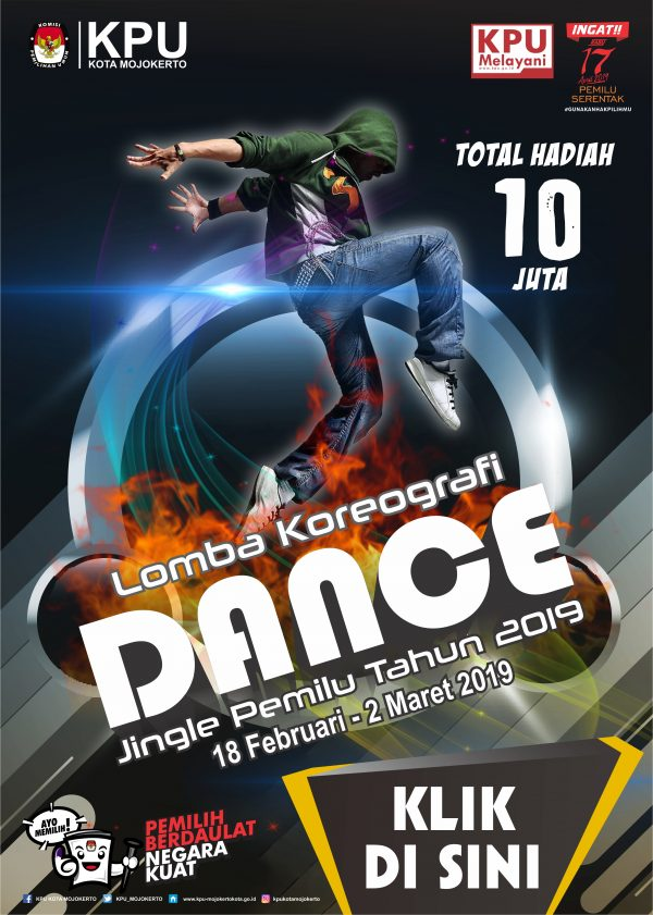 LOMBA DANCE JINGLE PEMILU 2019