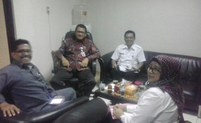 Ciptakan Harmonisasi, Sekretaris KPU Kota Mojokerto Berkoordinasi dengan Sekretaris KPU Provinsi Jatim