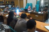 Pembahasan Hasil Rapat Koordinasi Dokumen Teknis dan Penyampaian DIM dalam Rapat Reboan